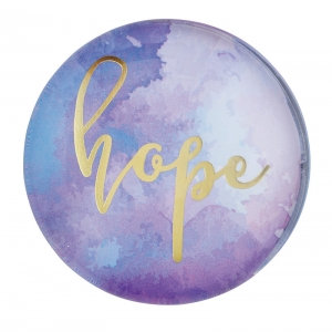 Magnanimous Round Magnet- Hope