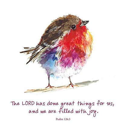 Joyful Robin Card