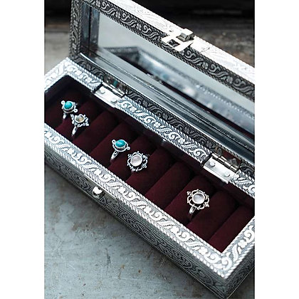 Decorative Ring/Earring Box