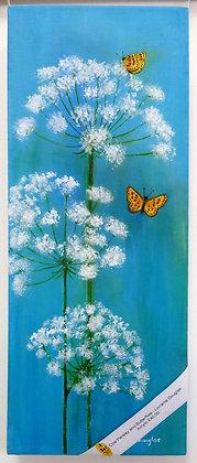 'Cow Parsley & Butterflies'