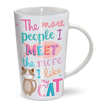 Latte Mug- Cat Lover
