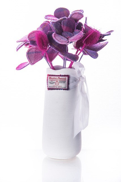 Light Purple Harris Tweed Bouquet