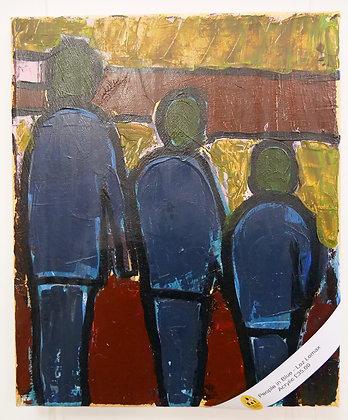 'People in Blue'