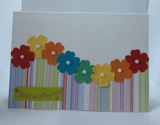 Handmade Best Wishes Card