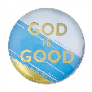 Magnanimous Round Magnet- God is Good