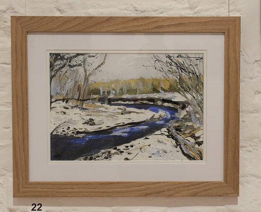 River Bank Winter