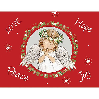 Angels 6 Gift Wrap 6 Tags
