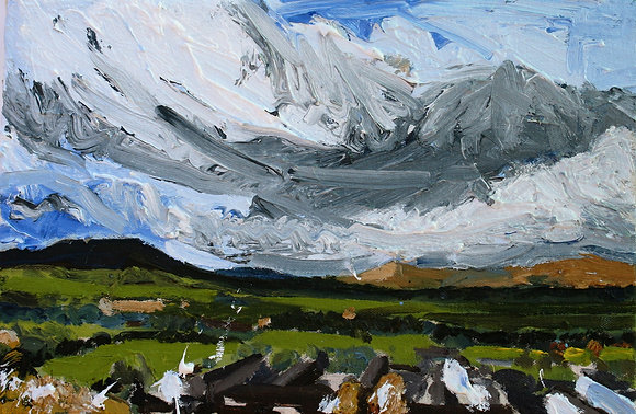 Looking toward Pendle Hill Study 1