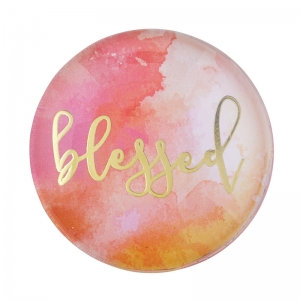 Magnanimous Round Magnet- Blessed