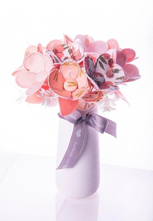 Light Pink Fabric Flower