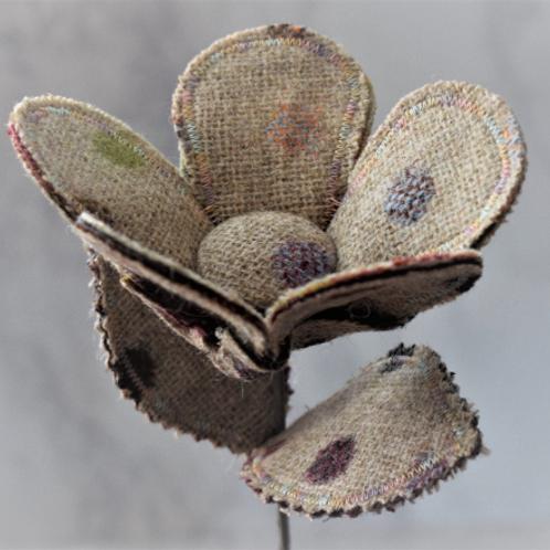 Abraham Moon Tweed Flower Stem
