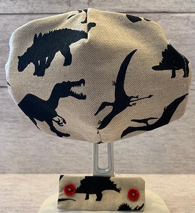 Handmade Non Medical Children's Dinosaur Mask & Ear Protector