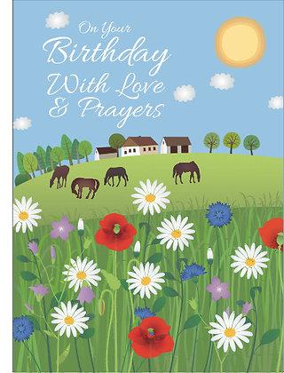 Love & Prayers on your Birthday