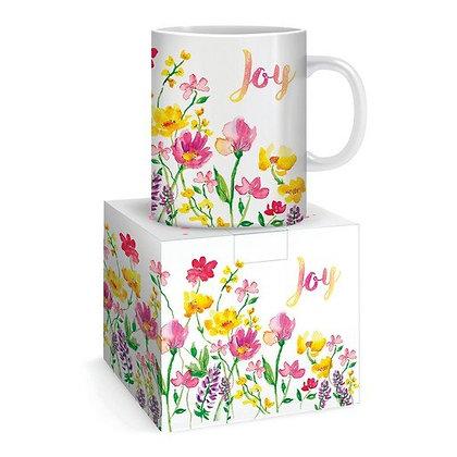 Joy Flowers Mug