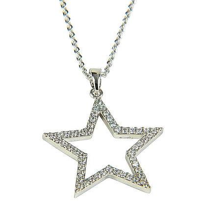 Diamente Star Necklace