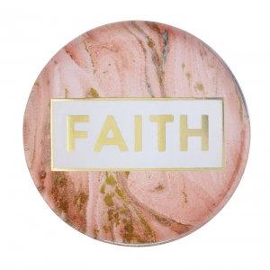 Magnanimous Round Magnet- Faith