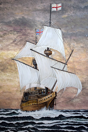 Mayflower Painting