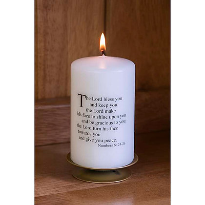 Numbers Blessing Candle