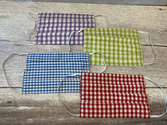 Handmade Non Medical Mask- Chequered
