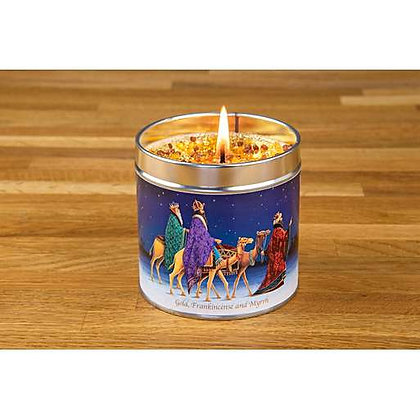 Gold, Frankincense and Myrrh Candle