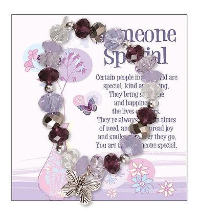 Glass Bracelet/Someone Special