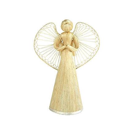 Natural Fibre Angel Tree Topper