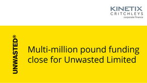 Multi-million pound funding close for Unwasted Limited