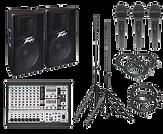 Speakers, Audio Equipment rental, Microphones