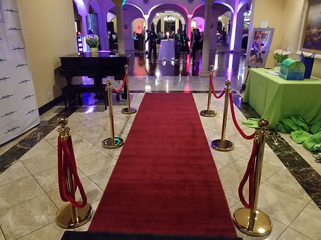 red carpet, decor