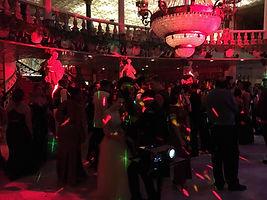 Prom, high school, lighting
