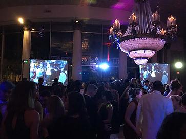 Prom Night, big screens, highschool, lighting