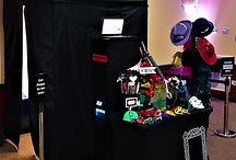 Photobooth setup, Photobooth, Props