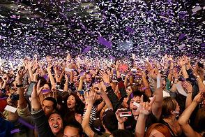 party, confetti cannon, student party, dj tampa, tampa dj