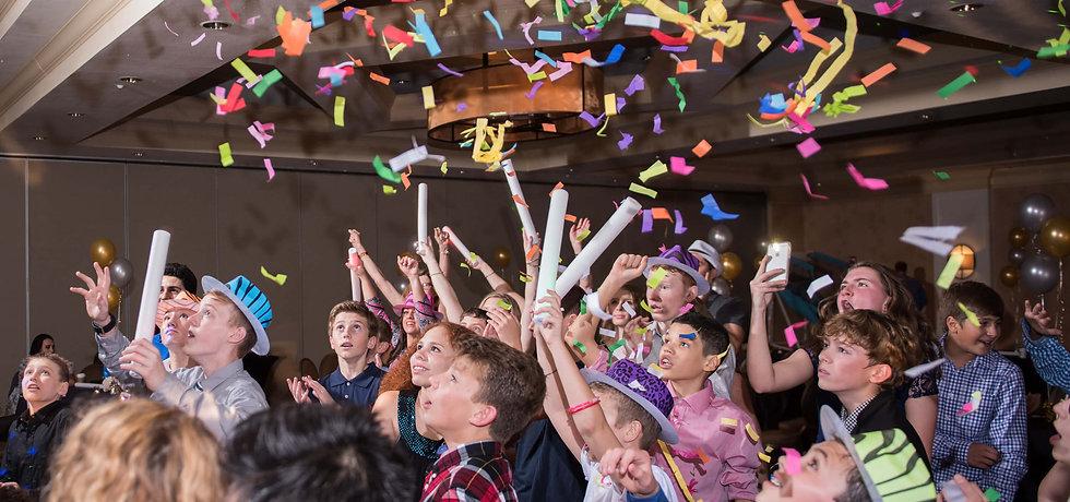 Confetti, Youth Party, Birthday, Bar Mtzvah
