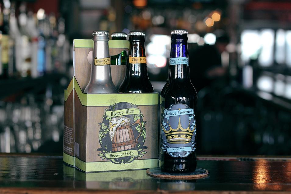 Merry Men Brewery Line