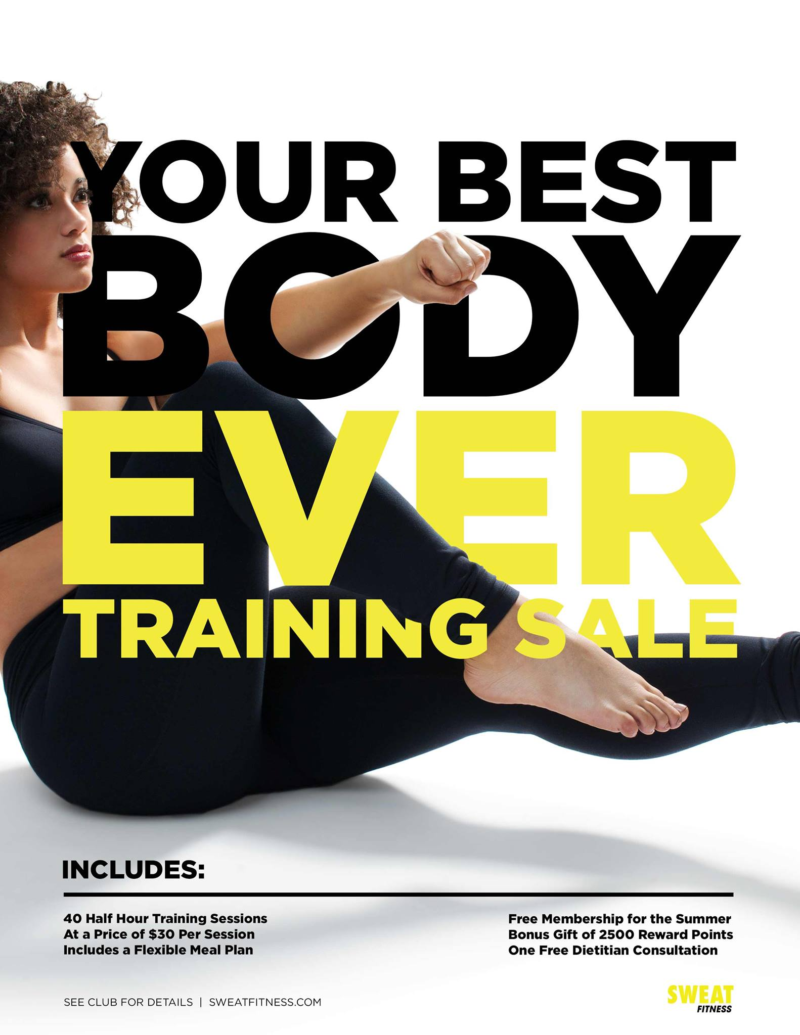Personal Training Promotion Image