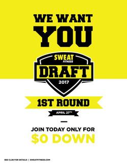 NFL Draft Inspired Promotion