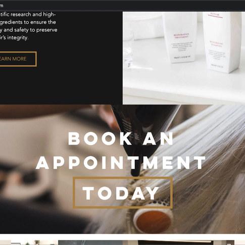 Hair Atelier Website