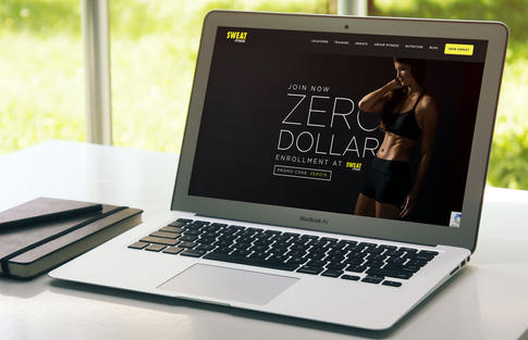 Sweat Fitness Membership Campaign