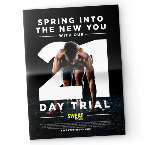 Sweat Fitness Ad Campaign