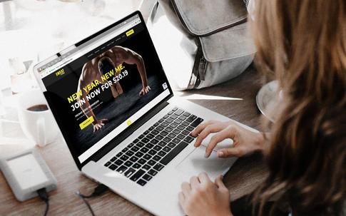 Sweat Fitness Website