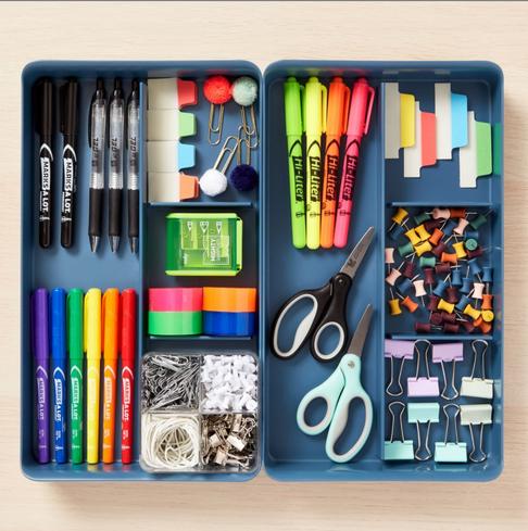 Organização - Materiais Escolare