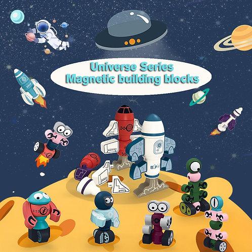 Cosmos series of magnetic building blocks