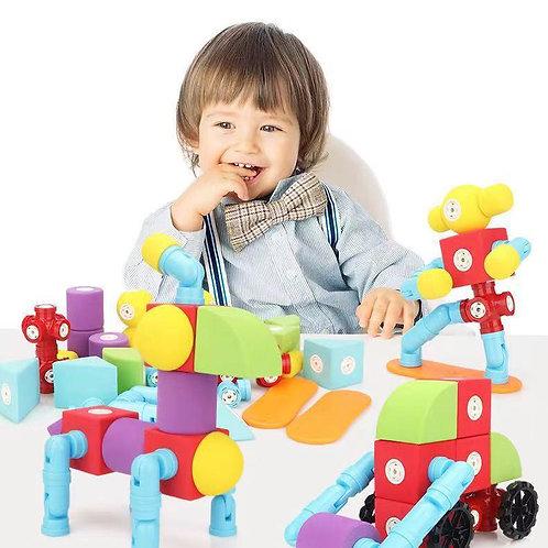 Magnetic building blocks EVA