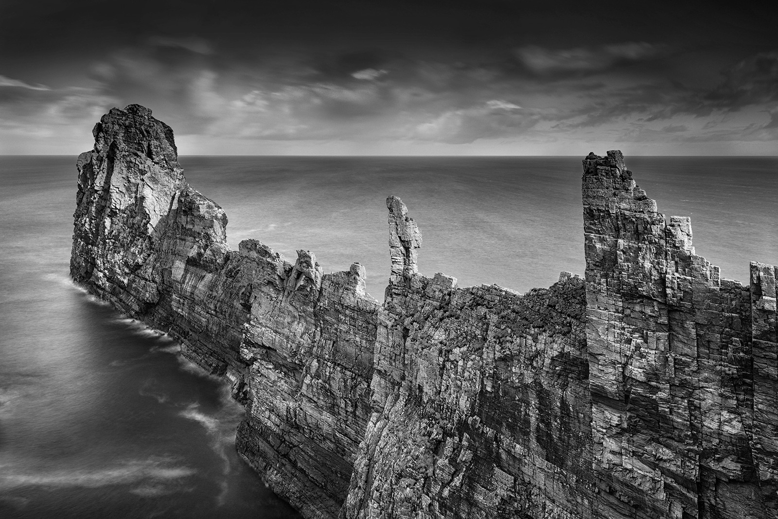MONO - The Anvil-Tory Island by Roy Crawford (8 marks)