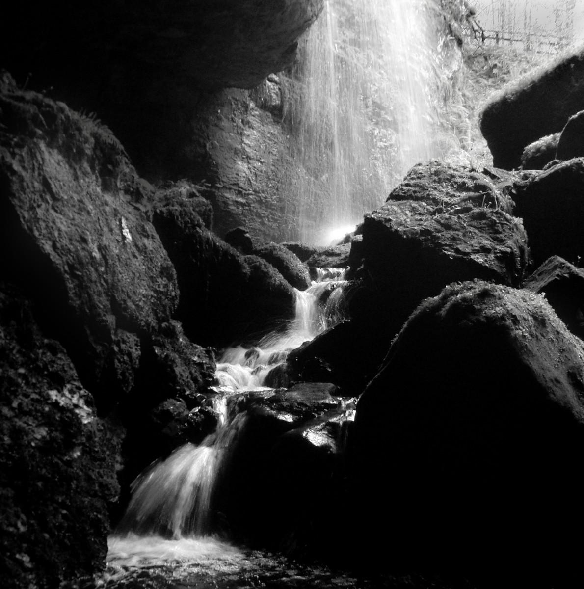MONO - Boho Waterfall by James Trotman (6 marks)