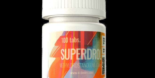 Superdrol 10mg/100 Tabs