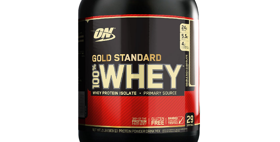 On 100% Whey Gold Standard 2 Lb
