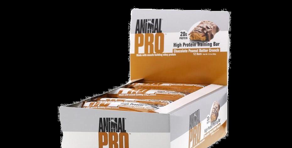 Uni Animal Pro Bar C/12 Choc Crunch 2.0 0z