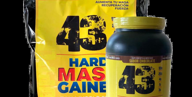 43 Hard Mass Gainer 15 Lb
